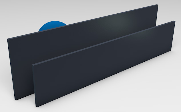 Powder Coated Aluminium Blades