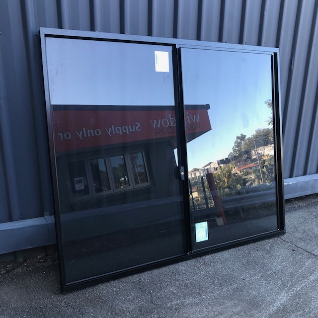 W2 Black Sliding Window for Clearance