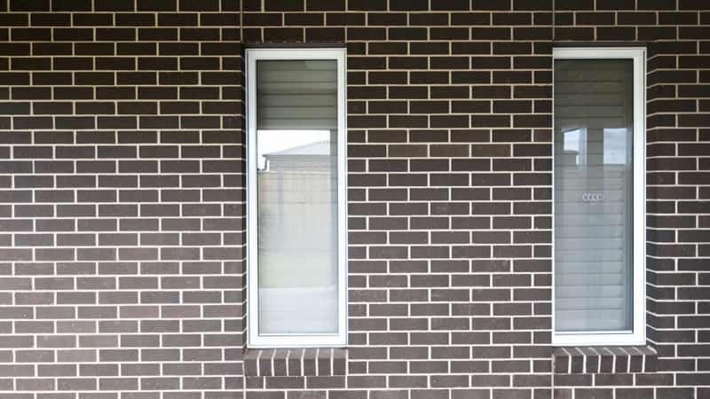 Awning windows in white