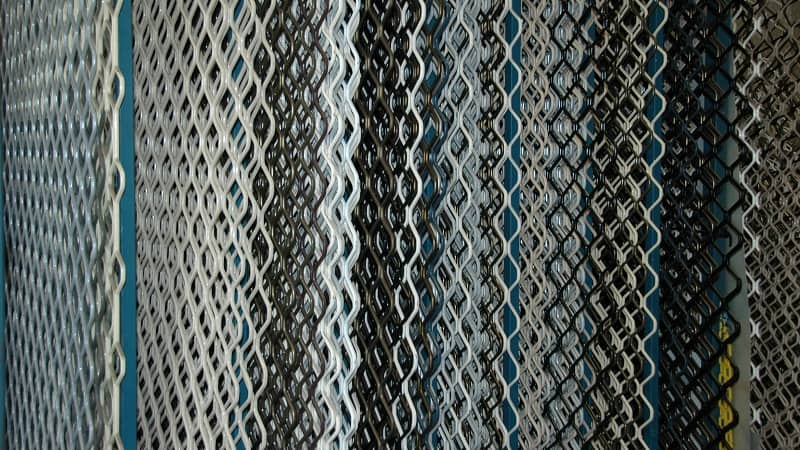 Diamond Grilles come in an assortment of colours