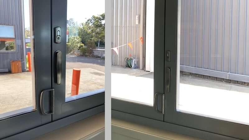 Bi-fold window hardware