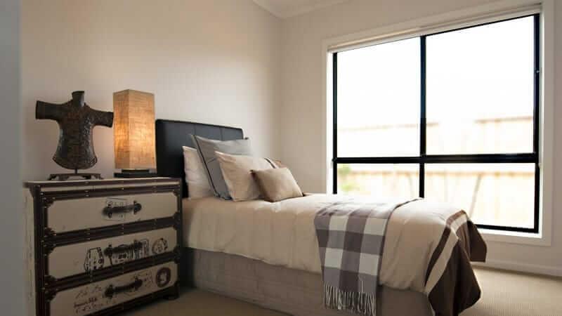 Patio unit in a bedroom